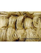 Material: Jute      Natural color      Very strong  Application:  decorative, for packaging, for decorating gifts